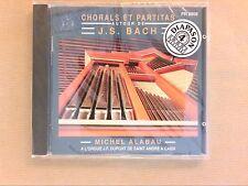 CD RARE / CHORALS ET PARTITAS / BACH / MICHEL ALABAU / ORGUE DE SAINT ANDRE CAEN