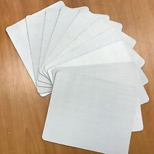 MOUSEPAD MOUSE PAD WHITE Blank For Custom Printing 10 LOT