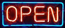 "New Cafe Coffee Shop Open Bar Light Lamp Artwork Wall Decor Neon Sign 14"""