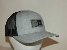 Hurley The Regular Trucker Hat / Cap Mesh Snapback Grey / Black BV2172-050