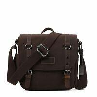 TRP0427 Troop London Heritage Canvas Shoulder Bag, Across Body Bag, Smart Travel