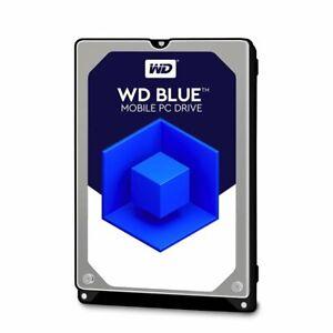 WD Blue 2 TB interne HDD 2,5 Zoll (SATA, 5400 U/min, 6 Gb/s) WD20SPZX bulk