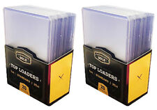50 CBG Hard Plastic Baseball Trading Card Topload Holders 12 mil rigid protector