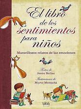 Libro de Los Sentimientos Para Ninos, El (Hardback or Cased Book)