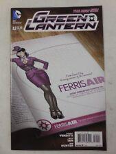 Bombshells Carol Ferris PIN UP~ GREEN LANTERN # 32 Comic VARIANT Cover DC NEW 52