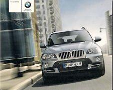 BMW X5 E70 2006-07 UK Market Launch 24pp Sales Brochure 3.0si 4.8i 3.0d SE