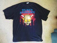 Vintage Black Sabbath T Shirt with rare Headless Cross 1989 Tour Design - XL