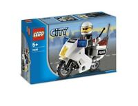 LEGO® CITY 7235 Polizeimotorrad - NEU / OVP