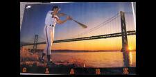 Will Clark BAY BRIDGE CLASSIC 1989 San Francisco Giants Original Nike POSTER
