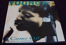 "YOUNG MC - I COME OFF, 12"" VINYL SINGLE"