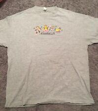 Coachella Paul Frank Tour T-shirt Rock n Roll Hip Hip Rap Festival  Gray XL