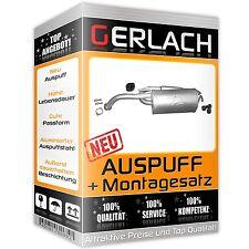 Auspuff Chevrolet Matiz 0.8 1.0 2005-02/2010 Endschalldämpfer *4347