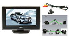 NEW Pyle PLCM44 4.3'' TFT LCD Monitor w/ Universal  Rear View and Backup Camera