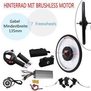"""28"""" Electric Bicycle Rear Wheel Conversion Kit 250W/1000W Motor E-Bike DIY Hub"""