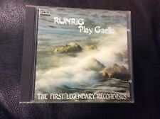 RUNRIG.  RUNRIG PLAY GAELIC CD ALBUM AS NEW RARE OUT OF PRINT CD C1