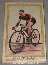 August 8th 1931 La Presse Zenon Saint-Laurent Cycling Premium Photo