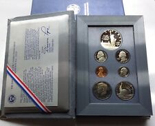 1986 PRESTIGE Proof Set. U.S. Mint Made. Complete & Original. With Box