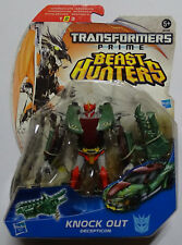 HASBRO® A2385 Transformers Beast Hunters Prime Deluxe Decepticon Knock Out