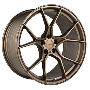 """20"""" STANCE SF07 FORGED BRONZE CONCAVE WHEELS RIMS FITS CHEVROLET CAMARO"""