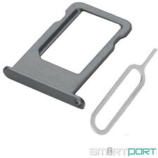 iPHONE 6 SIM KARTEN HALTER STECKER FACH ADAPTER NADEL CARD TRAY SLOT SPACE GRAU