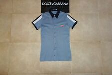 Dolce&Gabbana Black Label ITALIA Polo T-shirt Shirt 46 IT (S) Made in Italy,RARE
