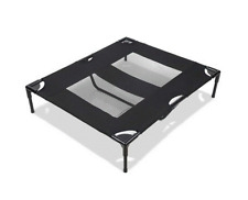 NEW PET TRAMPOLINE BED LARGE DOGS QUALITY MESH WASHABLE HEAVY DUTY WATERPROOF