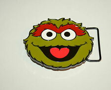 Sesame Street The Grouch Adult Belt Buckle New NOS 2011 tags