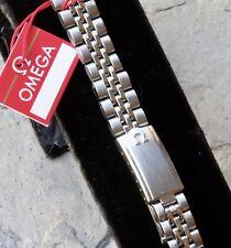 Vintage Omega Beads of Rice watch bracelet ladies Omega 5403 645 ends No. 12 NOS