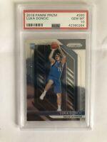 HOT🔥 LUKA DONCIC 2018-19 PANINI PRIZM PSA 10 GEM MINT ROOKIE CARD RC 280 INVEST