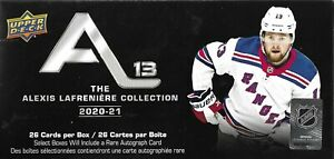 2020-21 Upper Deck ALEXIS LAFRENIERE Collection Sealed Box Set - 25 Rookie Cards