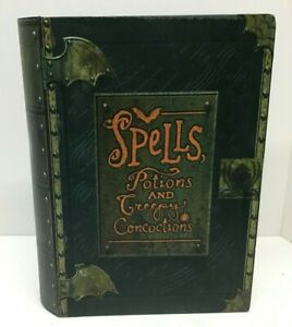 Hallmark Spells, Potions & Creepy Concoctions Talking Book Halloween Candy Box