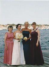 THE HOUSE OF BIANCI WOMEN'S DRESS GOWN  BIANCHI SIZE 8  PURPLE WINE PLUM TIAMO