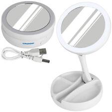 Grundig LED Kosmetikspiegel Schminkspiegel Beleuchtung Vergrößerung Bad Spiegel