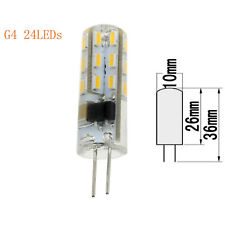 LED Bulb Light 3W 5W Mini G4 Silicone Crystal 3014 SMD Lamp 12V 110V 220V Bright