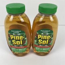 Lot of 2 Pine Sol Original Multi-Surface Cleaner 9.5 oz kills 99.9% of Germs