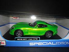 Maisto Dodge Viper SRT 2013 Metallic Green 1/18