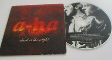 a-ha cd single dark is the night, W0175CD2, 4 tracks