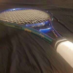 "Prince Michael Chang Graphite Longbody OS Tennis Racquet #3 3/8"" Babolat Grip"
