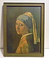 "VERMEER-""THE GIRL WITH THE PEARL EARING"" VINT  1936"