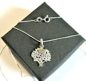 925 Stirling silver *Tree of Life* Pendant Necklace  *in a gift box*