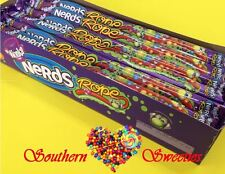 WONKA NERDS ROPE 24 COUNT RAINBOW COLOURFUL LOLLIES NERDS SPRINKLES