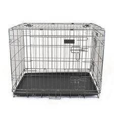 Gabbia pieghevole per cani box trasportino cani L 92x60x68h cm