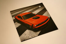 DODGE CHALLENGER MOPAR 2017 Accessories brochure - French - Canadian Market - 01