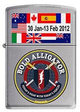 Operation BOLD ALLIGATOR Zippo MIB  30 Jan - 13 Feb 2012  BC