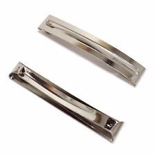 "100 Double Bar Barrettes Hair Bow Clips DIY Craft Supply Bulk Blank 60mm 2 5/16"""