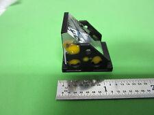 OPTICAL MICROSCOPE PART PRISM LEITZ GERMANY OPTICS BIN #4V-38 xv iii