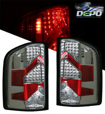 07-08 Silverado Truck LED Tail Lights CHROME DEPO PR