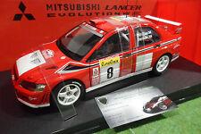 MITSUBISHI LANCER EVOLUTION VII RALLYE WRC 2002 MONTE CARLO 1/18 AUTOart 80252