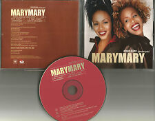 MARY MARY Shackles Praise you w/ 4 SNIPPETS PROMO Radio DJ CD Single USA 2000