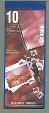 CANADA 1993 Booklet - HISTORIC HOTELS  - (10 @ 43c)  Complete - MNH